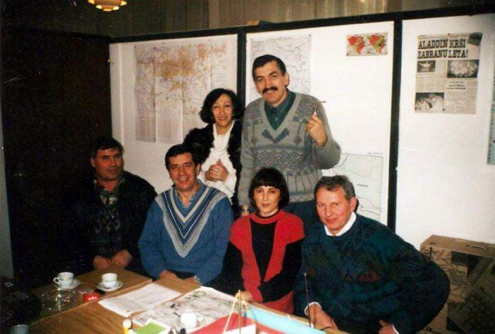 Sluzbenici iz ratne Ambasade u Zagrebu