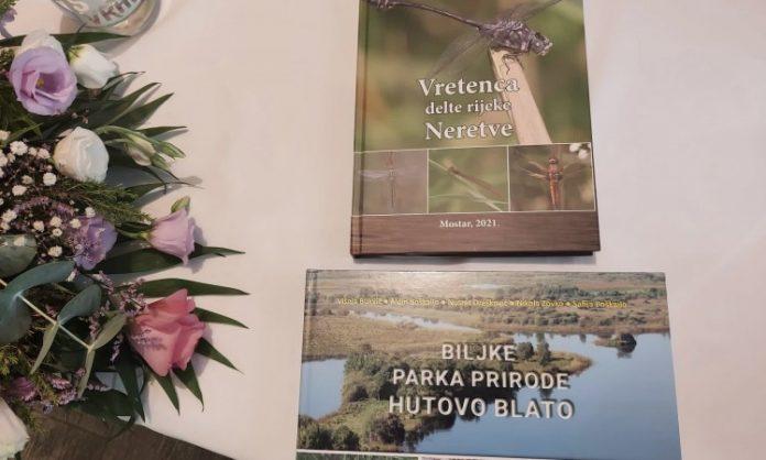 Višnja Bukvić predstavila knjige o flori Hutova blata i vretencima delte Neretve